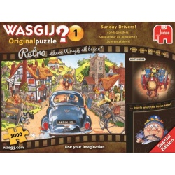 Wasgij Retro Original 1 Zondagsrijders 1000 stukjes