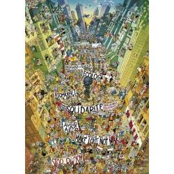 Protest, Heye puzzel 2000 stukjes