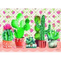 Cactus Family, Heye puzzel 1000 stukjes
