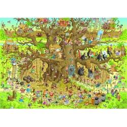 Monkey Habitat, Heye puzzel 1000 stukjes