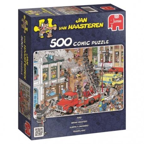 Brand meester Jan van Haasteren 500stukjes