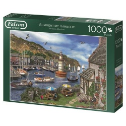 Summertime Harbour, Falcon puzzel 1000 stukjes