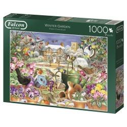 Winter Garden, Falcon puzzel 1000 stukjes