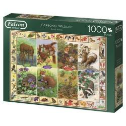 Seasonal Wildlife, Falcon puzzel 1000 stukjes