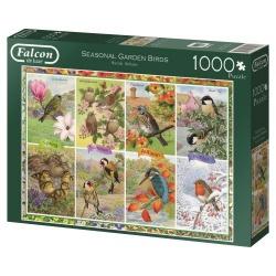 Seasonal Garden Birds, Falcon puzzel 1000 stukjes