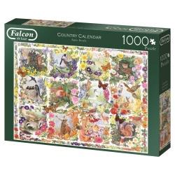Country Calendar, Falcon puzzel 1000 stukjes