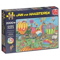 Het ballon festival  Jan van Haasteren 2000stukjes