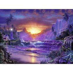Zonsopgang in het paradijs