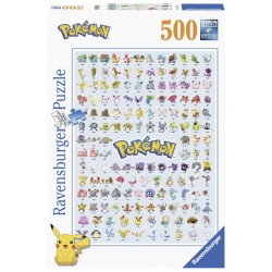 Pokemon 500stukjes Ravensburger