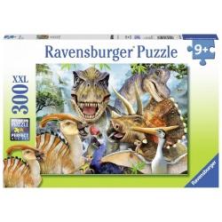 Vrolijke dino's 300stukjes Ravensburger