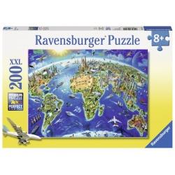 De wereld in symbolen 200stukjes Ravensburger
