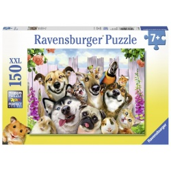 Grappige dierenselfie 150 stukjes Ravensburger