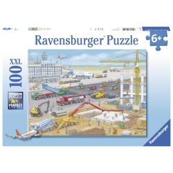 Bouwen op het vliegveld 100 stukjes Ravensburger