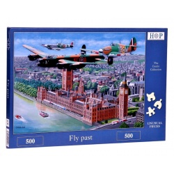 Fly past Hop Puzzels 500st