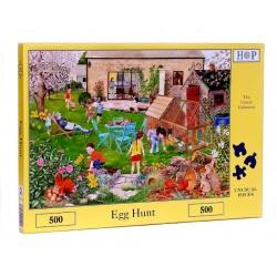 Egg hunt, Hop Puzzels 500st