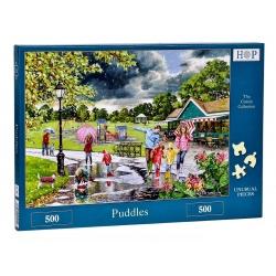 Puddles Hop Puzzels 500st