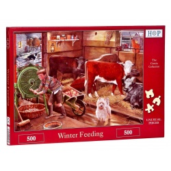 Winter feeding Hop Puzzels 500st