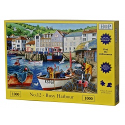 No.12 - Busy Harbour, Hop Puzzels1000st