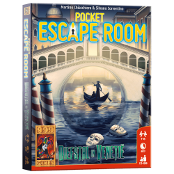 Pocket Escape Room - kaartspel diefstal in Venetie