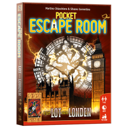 Pocket Escape Room -Londen kaartspel