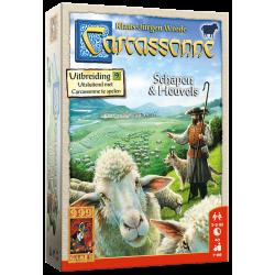 Carcassonne: Uitbr. Schapen & Heuvels