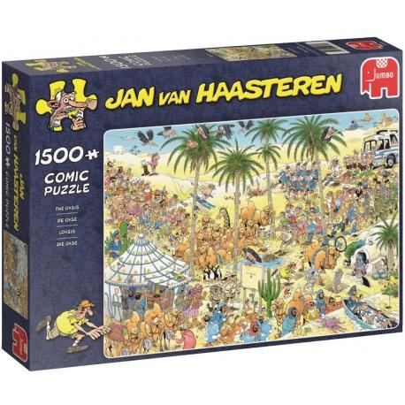 The Oasis Jan van Haasteren 1500 stukjes
