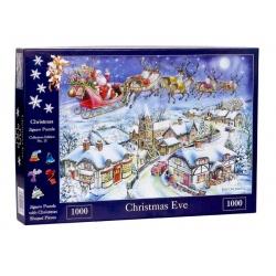 No. 13 - Christmas Eve  Christmas, House of Puzzles 1000 stukjes
