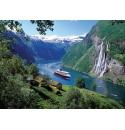 Noorse Fjord 1000stukjes Ravensburger