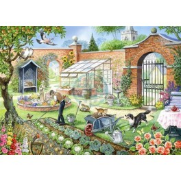 Kitchen Garden, House of Puzzles 1000stukjes