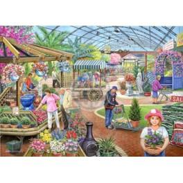 At The Garden Centre, Hop Puzzels 1000stukken