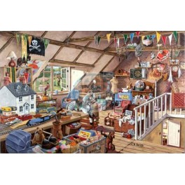 Grandma s Attic, House of Puzzles 1000stukjes
