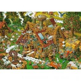 Funny Farm Ryba, Heye Puzzel 1500stukjes