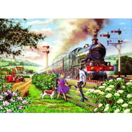 "House of Puzzles.BIG 500stukjes  Railway Children  ""The BramptonCollection """