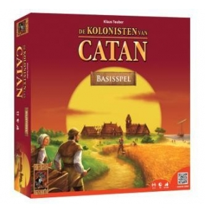 Kolonisten van Catan basis spel 999 games