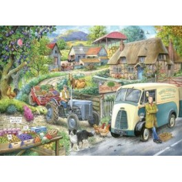 Plum Jam, House of Puzzles 1000stukjes