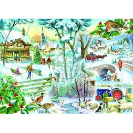 Winter Wonderland, House of Puzzles 1000stukjes