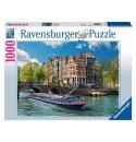 Rondvaart in Amsterdam 1000stukjes Ravensburger