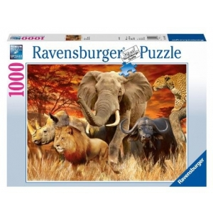 De big five 1000stukjes Ravensburger