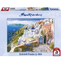 Blik op Santorini 1000st  schmidt