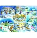 Let it Snow, House of Puzzles 1000stukjes
