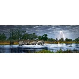 Herd of Elephants,  Heye Puzzel 2000stukjes