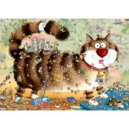 Cat's Life, Heye Puzzel 1000stukjes