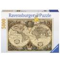 Antieke kaart, Ravensburger 5000stukjes