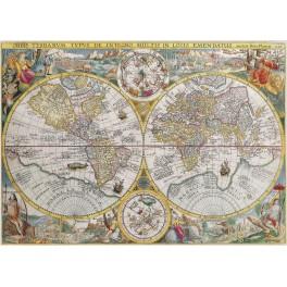 Historische Kaart 1500stukjes  ravensburger