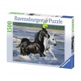 Paarden op het Strand, 1500stukjes ravensburger