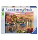 Mediterrane Haven, 1500stukjes ravensburger