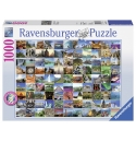 99 mooie plekken op Aarde 1000stukjes Ravensburger