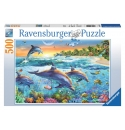 Dolfijnenbaai 500stukjes Ravensburger