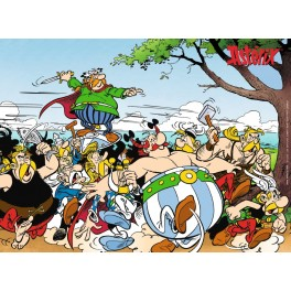 De Galliërs gaan los