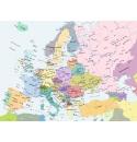 Europakaart 300stukjes Ravensburger